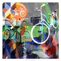 Lakewood Bikes - Dallas Fine Art Print