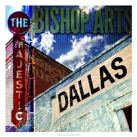 Bishop Art - Dallas Framed Print