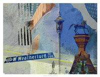 Weatherford St. Ft. Worth Framed Print