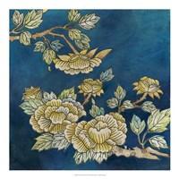Eastern Floral II Framed Print