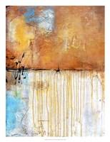 November Rain I Framed Print