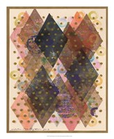 Inked Triangles I Fine Art Print