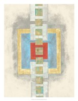 Squares in Line I Fine Art Print