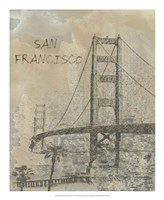 Remembering San Francisco Framed Print