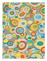 Overlapping Ovals II Fine Art Print