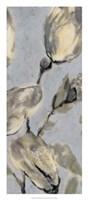 Flower Bud Triptych II Framed Print