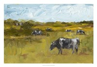 Rural View II Framed Print