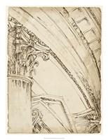 Architects Sketchbook III Framed Print