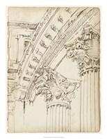 Architects Sketchbook IV Framed Print