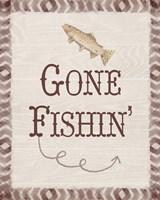 Gone Fishin' Fine Art Print