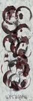 Wine Stains Framed Print