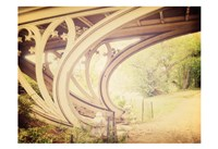 Central Park Mile Bridge Fine Art Print