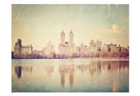 Central Park Mirror Fine Art Print