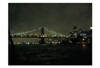 Bridge At Night Fine Art Print