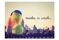 Make A Wish NYC Fine Art Print