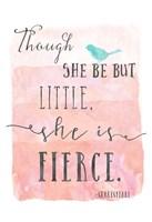 Little Fierce Fine Art Print
