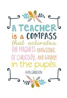 Teacher Quote Fine Art Print