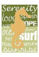 Beach Horse Framed Print