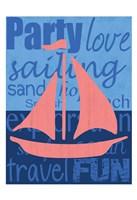 Beach Sail Framed Print