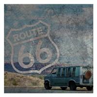 Route 66 Van Fine Art Print
