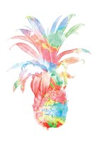 Colorful Pineapple Clean Fine Art Print