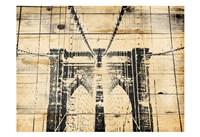 Wood Bridge Fine Art Print