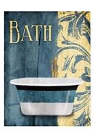 Tub Bath Framed Print