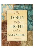Lord Light Framed Print