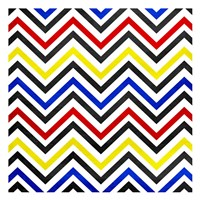 Pop Chevrons Fine Art Print