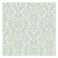 Floral Pattern Reverse Framed Print