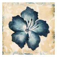 Blue Flower Mate Framed Print