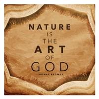 Nature Art Framed Print