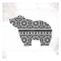 Bear Patterns Fine Art Print