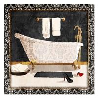 Traditional Bath Framed Print