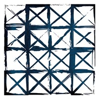 Box Blue Lines Fine Art Print