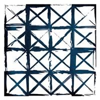 Box Blue Lines Fine Art Print