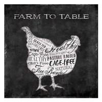 Farm To Chicken Fine Art Print