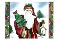 Father Christmas Fine Art Print