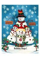 Holiday Hugs Fine Art Print