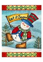 Let it Snow II Framed Print