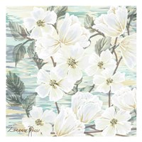 White Water Flowers 2 Fine Art Print