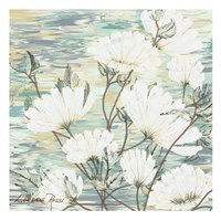 White Water Flower 3 Fine Art Print