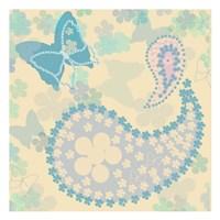 Pastel Paisley 2 Fine Art Print