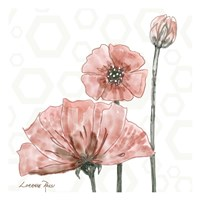 Poppy Umbrella 1 Fine Art Print