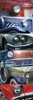 Grunge Cars 1 Fine Art Print