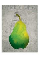 Fruit Watercolor II Framed Print