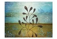 Contemporary Florals 1 Framed Print