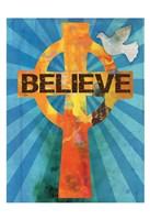 Believe Confirmation 2 Framed Print