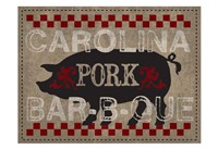 Carolina Pork BBQ Fine Art Print