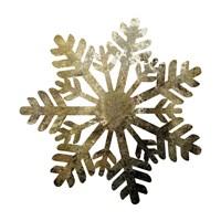 Glimmer Snowflakes 1 Fine Art Print